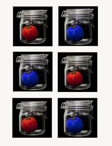 red tomato blue tomato